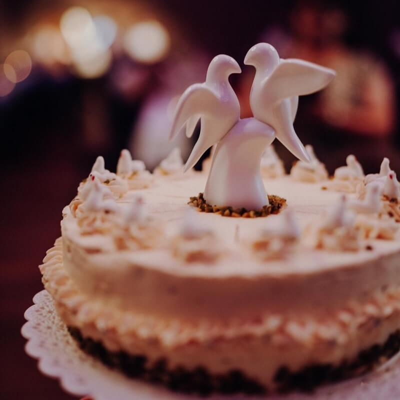 freie trauung torte ideen
